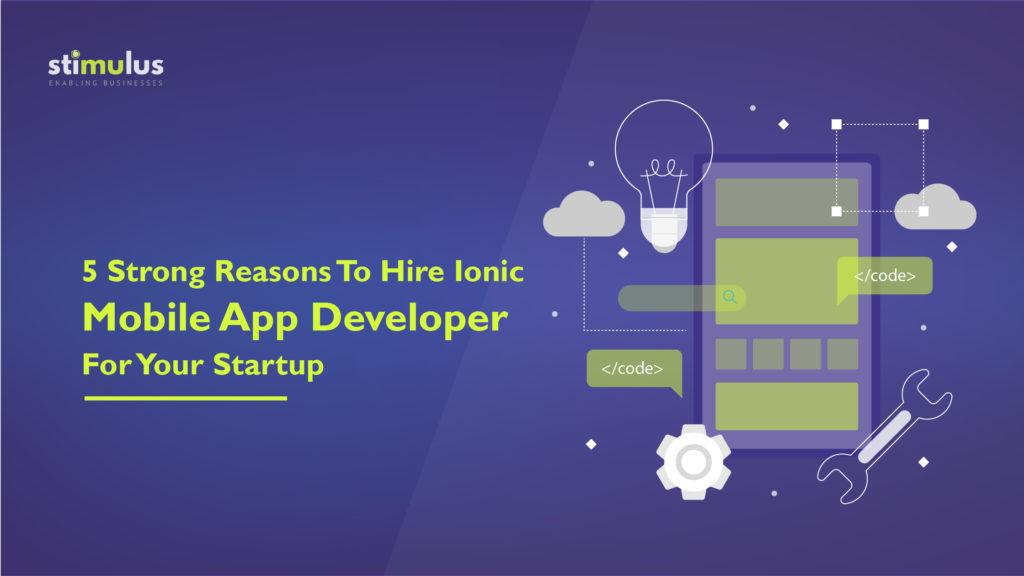 Hire Ionic App Developer for ionic app development services